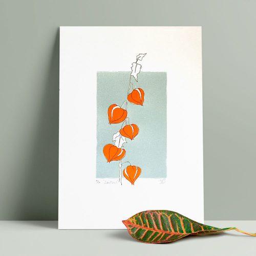 Edy & Fig 'lanterns' A4 print