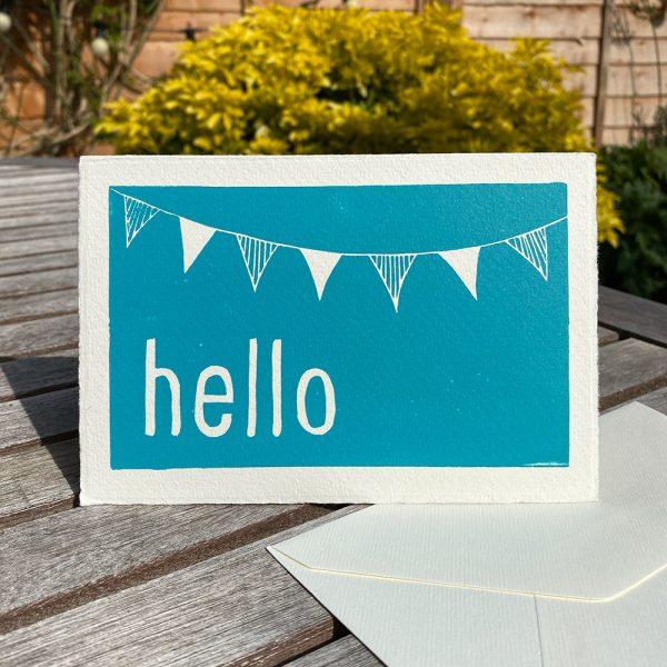 Edy & Fig 'hello' greeting card