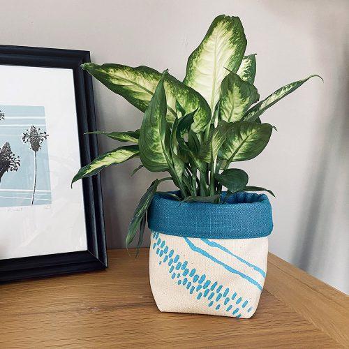 Edy & Fig fabric planter