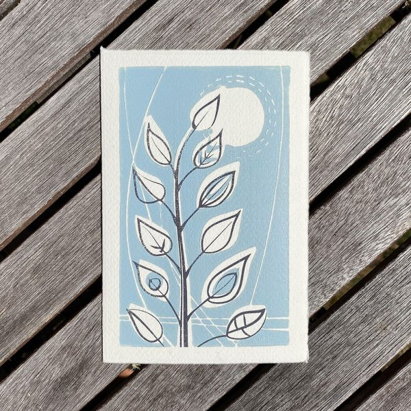 Edy & Fig - Leafy Stem greeting cards