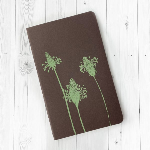 Edy and Fig luxury, hand printed notebook