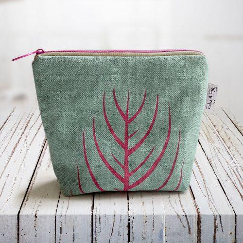 Edy & Fig - nature print, ethical make up bag