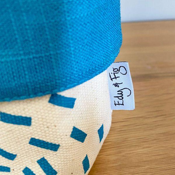 Edy & Fig home furnishing fabric storage box