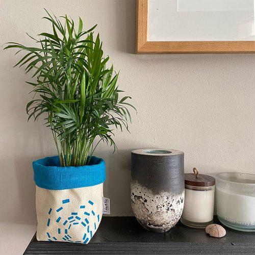 Edy & Fig home furnishing fabric planter