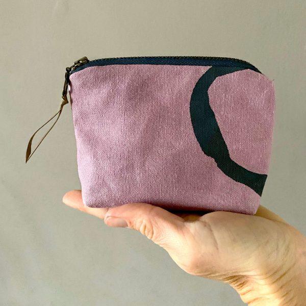 Organic hemp coin purse