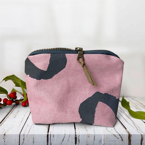Organic hemp coin purse Christmas gift