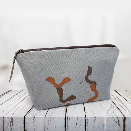Sycamore seed vegan friendly cotton pouch bag